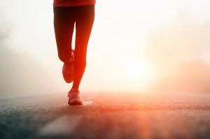 Runner Making Progress