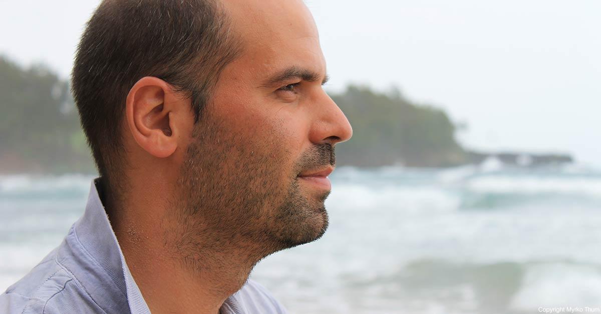 Myrko at the Beach in Maui