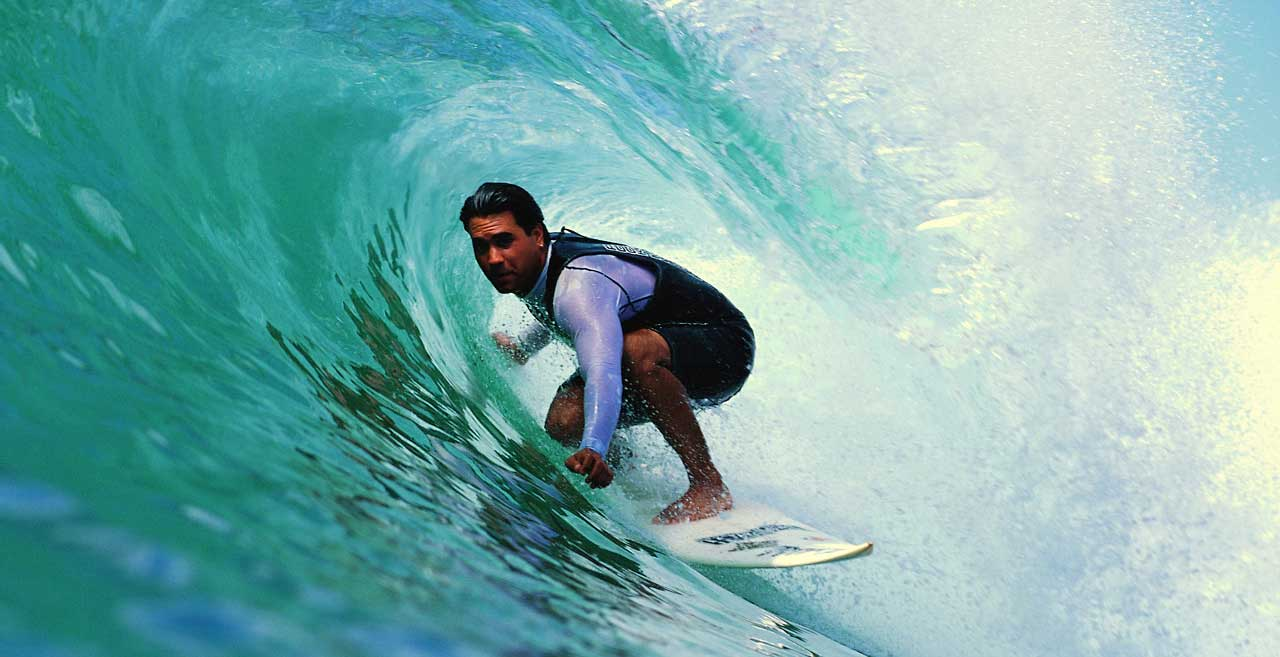 Surfer in the Flow