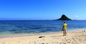 Myrko Thum in Kailua, Hawaii