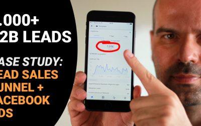 1000+ B2B Leads mit Funnel und Facebook Ads [Case Study]